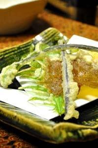 山菜の天ぷら サクサク!