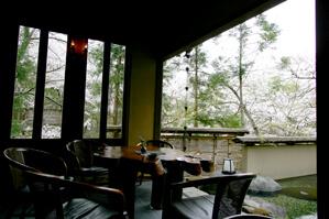 優雅な洋風茶室