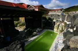国見温泉 石塚旅館  温泉を楽しむ