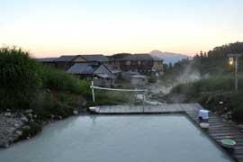 藤七温泉 彩雲荘 温泉を楽しむ