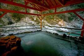 祖谷温泉 和の宿 ホテル祖谷温泉  温泉を楽しむ