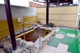 フカサワ温泉 温泉を楽しむ