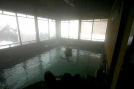栃尾又温泉 自在館 温泉を楽しむ