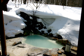 白骨温泉-小梨の湯笹屋 温泉を楽しむ
