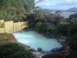 明礬温泉-岡本屋旅館 温泉を楽しむ