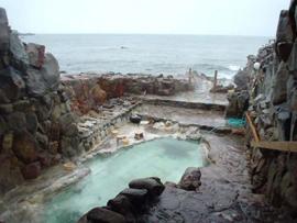 白浜温泉-崎の湯 温泉を楽しむ