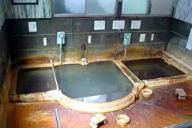 温泉津温泉-元湯 温泉を楽しむ