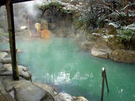 黒川温泉-黒川荘 温泉を楽しむ