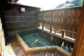 出雲湯村温泉-湯乃上館 温泉を楽しむ