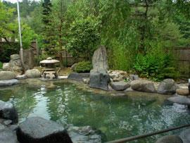 中山平温泉 琢秀温泉を楽しむ