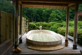 西山温泉-慶雲館-温泉を楽しむ