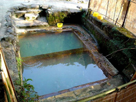 妙見温泉-和気湯 温泉を楽しむ