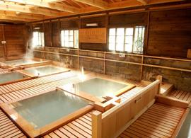 那須湯本温泉-鹿の湯 温泉を楽しむ