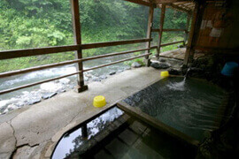 駒の湯温泉 駒の湯荘 温泉を楽しむ