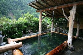 奈良田温泉 白根館 温泉を楽しむ