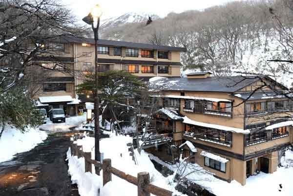 奥那須温泉 大丸温泉旅館 外観