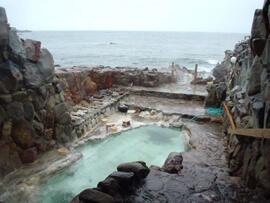 白浜温泉 崎の湯 温泉を楽しむ