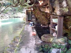 壁湯温泉-旅館福元屋-温泉を楽しむ