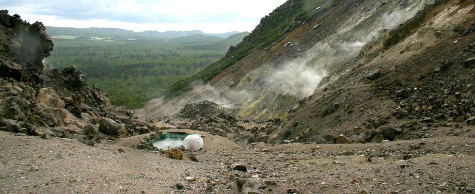 硫黄山温泉イメージ