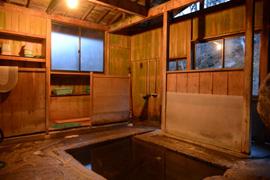 湯ノ花温泉-石湯 温泉を楽しむ