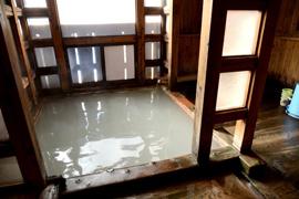 草津温泉-白旗の湯 温泉を楽しむ
