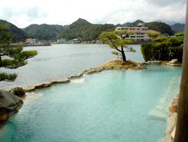南紀勝浦温泉-ホテル中の島-温泉を楽しむ