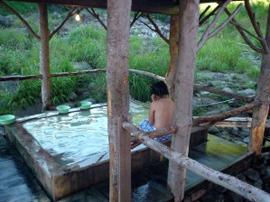 乳頭温泉郷-黒湯温泉 温泉を楽しむ