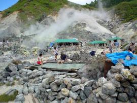 玉川温泉 温泉を楽しむ