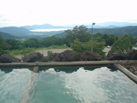 アルパこまくさ(旧駒草荘-展望露天風呂)-温泉を楽しむ