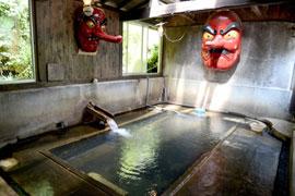 北温泉-北温泉旅館-温泉を楽しむ