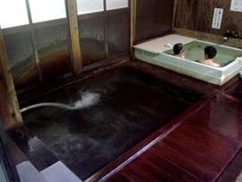 微温湯温泉-旅館ニ階堂 温泉を楽しむ