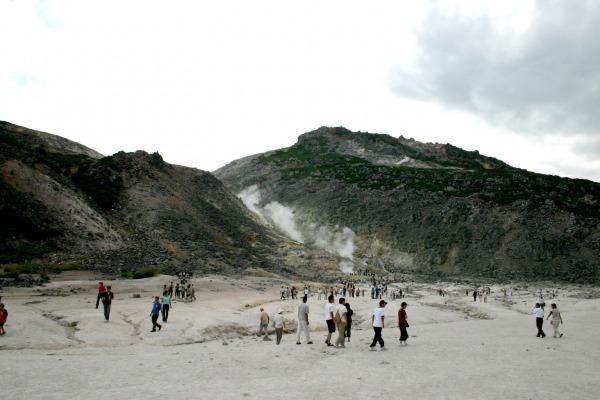 硫黄山温泉1