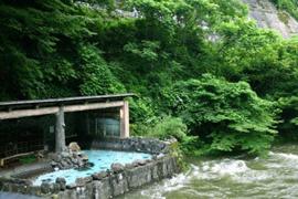 花巻温泉郷-大沢温泉 温泉を楽しむ
