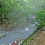登別温泉 大湯沼川の天然足湯(旧野湯)