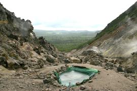 硫黄山温泉 温泉を楽しむ