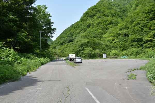 平田内温泉 熊の湯入口