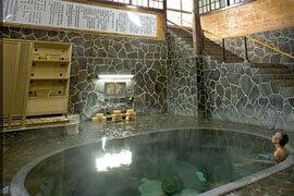 鉛温泉 藤三旅館 温泉を楽しむ