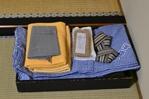 タオル大小、ゆかた、羽織、靴下、袋
