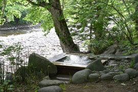 上の湯温泉 銀婚湯 温泉を楽しむ