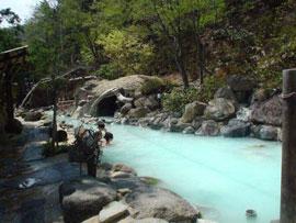 高湯温泉-安達屋旅館 温泉を楽しむ