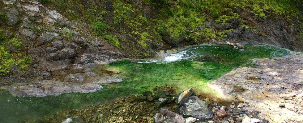 カムイワッカ湯の滝イメージ