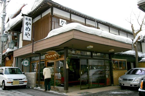 渋温泉 かめや旅館1