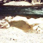 湯野上温泉 河原の湯(閉鎖)