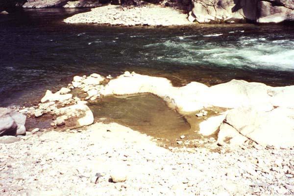 湯野上温泉 河原の湯1