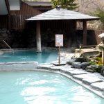 水沢温泉 露天風呂