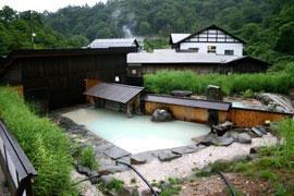 泥湯温泉-奥山旅館 温泉を楽しむ
