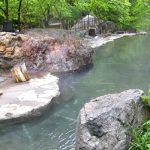 松川渓谷温泉 滝の湯