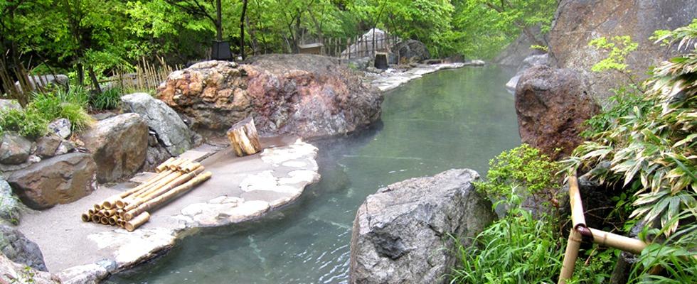 松川渓谷温泉 滝の湯 イメージ