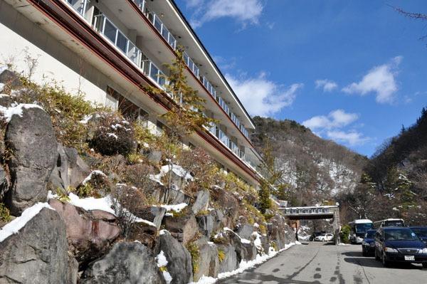 横谷峡温泉 横谷温泉旅館1