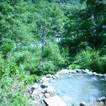 白馬八方温泉 小日向の湯の野湯